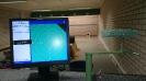 Einbau der elektronischen Zielerfassungsanlage